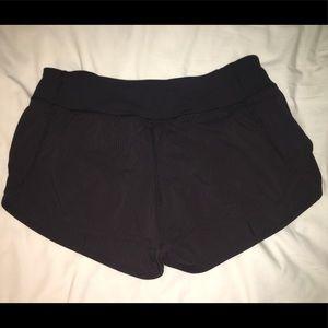 Ivivva Speedy Black Striped Shorts